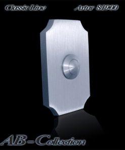 Klingel Hamburg schlanke Version massiv 6mm Edelstahl