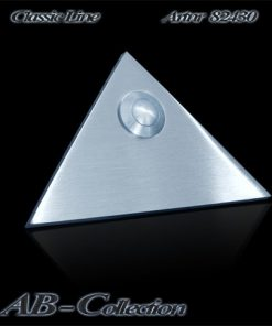 Klingel Dreieck gravierfähig massiv 6mm Edelstahl