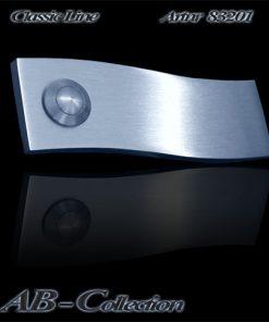 Klingel in Wellenform massiv 6mm Edelstahl