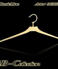 Kleiderbügel Nr 5 massiv Messing