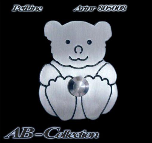 Teddybär als Klingel