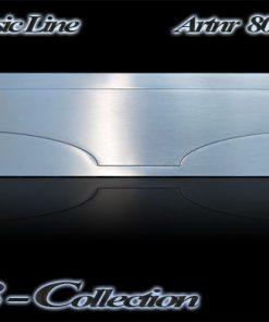 80608 Briefeinwurf massiv 3mm VA nach innen öffnend mit Federzug