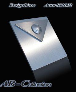 Designer Klingel mit dreieckigem Aufsatz