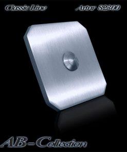 Klingel Tessin quadratisch massiv 6mm Edelstahl