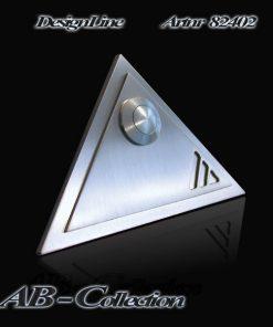 Klingel Dreieck mit Aufsatz und 3 Ausschnitten