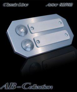 Klingel achteckig mit 2 Wechselschildern 6mm V2a