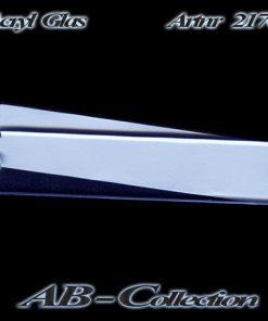 Klingelschild als Aufschraubschild Acrylglas Luzern manuell beschriftbar