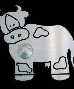 Kuh Klingel Messing