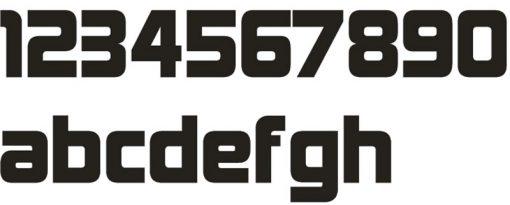 Hausnummer Serie DESIGNER Edelstahl