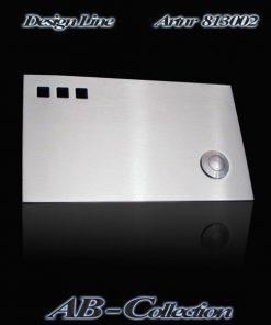 Designer Klingel  813002 mit 3 Ausschnitten