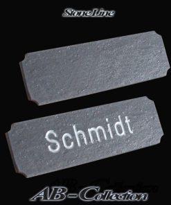 Klebeschild Hamburg Schiefer diverse Größen