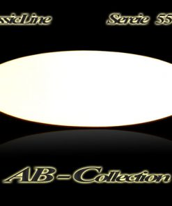 Namensschild Serie Wiesbaden elliptisch  Messing in diversen Größen