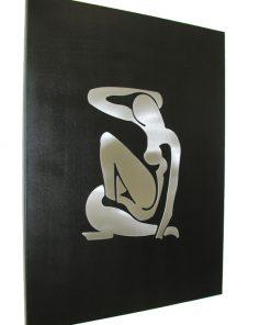 Designer Deco erotische Dame in edlem Design