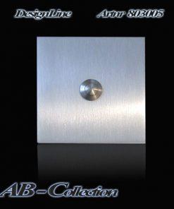 Designer Klingel eckige Serie Edelstahl quadratisch 70 -120 mm