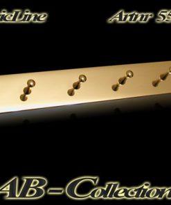 Schlüsselleiste Frankfurt 6 Pin massiv Messing