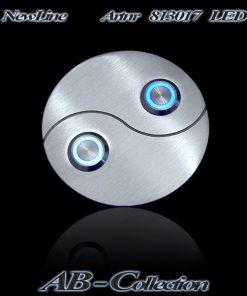 Yin-Yang Klingel Edelstahl - 2 LED