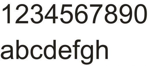 Hausnummer Serie Elegance Edelstahl