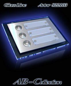 Klingel Kiel Dreifamilienhaus mit LED Glasplatte