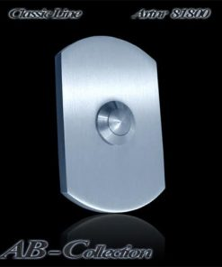 Klingel schlank mit Bögen massiv 6mm Edelstahl Artnr 81800