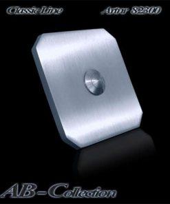Klingel Tessin quadratisch massiv 6mm Edelstahl Artnr 82300