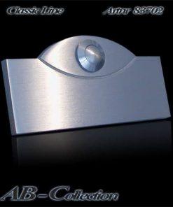 Klingel mit magischem Auge massiv 6mm Edelstahl Artnr 83702