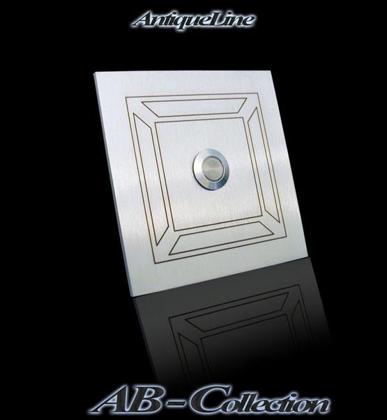 Klingel Klassizismus-2 Edelstahl