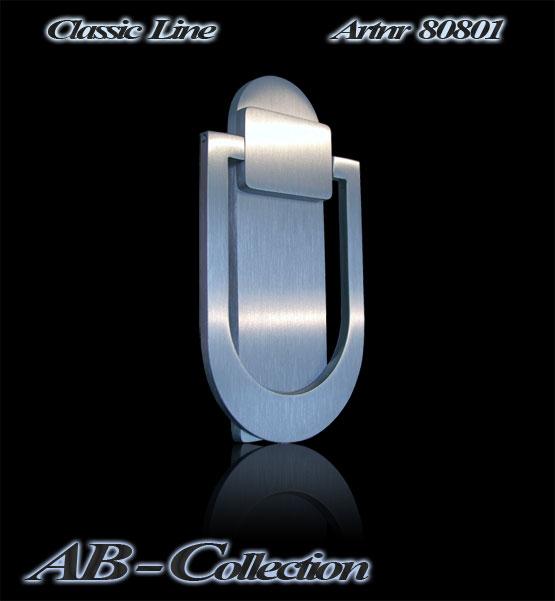 Türklopfer Classic massiv  Edelstahl  in eleganter klassischer Form ArtNr 80801