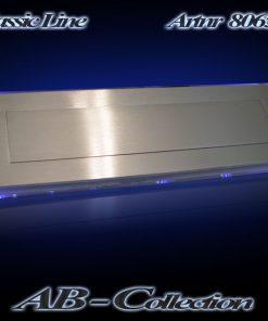 Briefeinwurf Illumina LED beleuchtet VA nach innen öffnend mit Federzug