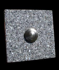 Klingel Granit Imitat quadratisch grau