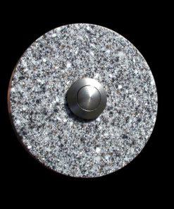 Klingel Granit Imitat rund grau