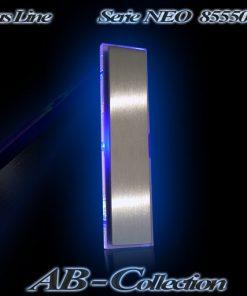 Hausnummer  NEO Edelstahl mit Glasbeleuchtung
