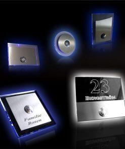 Türklingel mit Acrylglas und LED