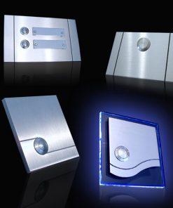 Türklingel mit Laser Strahltechnik