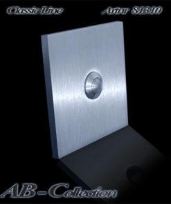 Klingelplatte quadratisch massiv 6mm Edelstahl